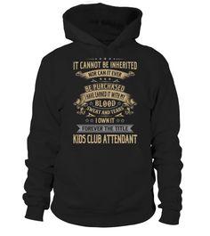 Kids Club Attendant  #womensfashion #menfashion $tshirt #fashion