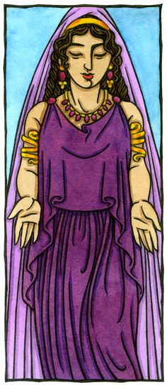 Polyhymnia, Muse of Sacred Song