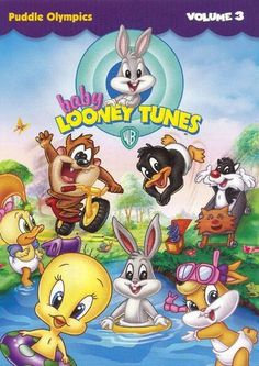 Baby Looney Tunes: Volume 3 - Puddle Olympics on DVD from Warner Bros. More Children's, Animated Animals and Animation DVDs available @ DVD Empire. Vintage Cartoons, Classic Cartoons, Cool Cartoons, Early 2000s Cartoons, Childhood Tv Shows, My Childhood Memories, 90s Tv Shows, Old Kids Shows, Old Cartoon Shows
