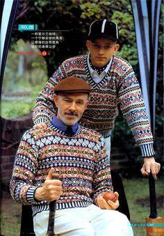Мужские жаккардовые пуловеры. Обсуждение на LiveInternet - Российский Сервис Онлайн-Дневников