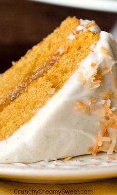 Pumpkin Layer Cake with Orange Ginger Filling and Cinnamon Cream Cheese Frosting…