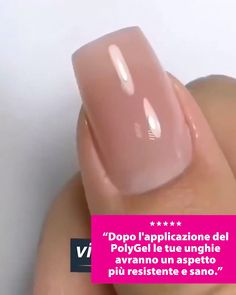 Your perfect nails from the sofa at home without an expensive beautician - Kirshnert Manicure, Polygel Nails, Cute Nails, Pretty Nails, Diy Acrylic Nails, Gel Nail Art, Nail Polish, Healthy Nails, Nagel Gel
