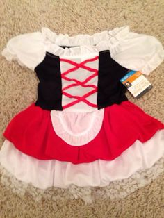 Check out this listing on Kidizen: Little Red Riding Hood Halloween Costume #shopkidizen