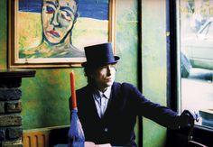 """Imagen del rodaje de Bob Dylan del vídeo """"Blood in my eyes"""" (Sangre en mis ojos), que se expone desde hoy en Londres. (EFE)"""
