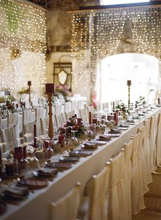 Pearl & Godiva - www.pearlandgodiva.com Barn Wedding Rehearsal Dinner at Borris House by Brosnan Photographic, styled by Pearl & Godiva