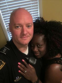 Beautiful newly engaged interracial couple #love #wmbw #bwwm #swirl #wedding #lovingday