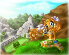 tikal the Echidna | Tikal The Echidna Graphics Code | Tikal The Echidna Comments ...
