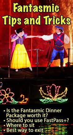 Tips and tricks for Fantasmic - Fantasmic Dinner Package (is it worth it?), using FastPass+, where to sit, how to exit