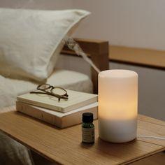 Muji diffuser - add favourite scented oils. Delicious!
