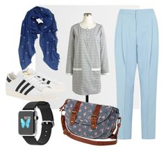 """Sporty geometry"" by purple-thee on Polyvore"
