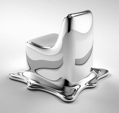 Melting Chair  by Phillip Aduatz