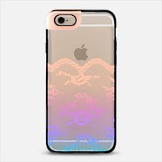Colorful Dreams Romantic Lace Transparent iPhone 6 Plus Metaluxe Case by Organic Saturation   Casetify Get $10 off using code: 53ZPEA