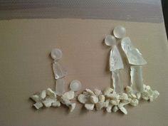 raccontare storie con vetri di mare - pebble art and seaglass