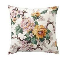 Garden Botanical Indoor/Outdoor Cushion - Blush