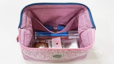 프레임 파우치 만들기 : 네이버 블로그 Frame Bag, Baby Car Seats, Diaper Bag, Sewing Patterns, Lunch Box, Pouch, Diy Crafts, Backpacks, Quilts
