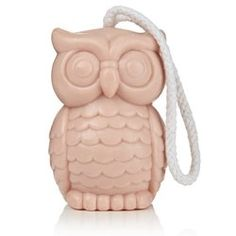 Large Soap on a Rope - Owl - npw - Gifts for all