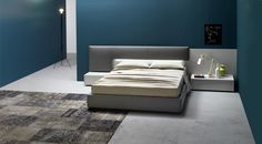 Dedalo by San Giacomo, polish agent of San Giacomo: www. San Giacomo, Italian Furniture, Home Staging, Bedding Collections, Bed Frame, Space Saving, Bedroom Furniture, Small Spaces, Mattress
