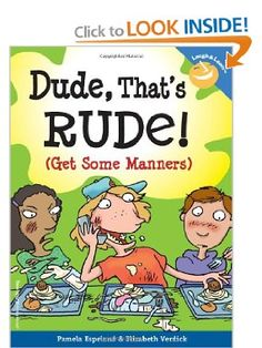 List of books that teach manners