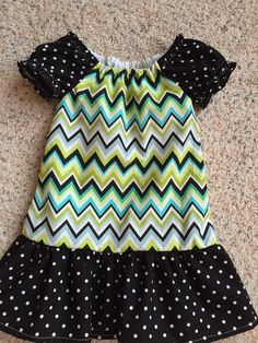 A personal favorite from my Etsy shop https://www.etsy.com/listing/251942351/infant-girls-toddler-chevron-peasant