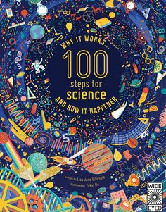 100 Steps For Science on Behance. Illustration with different science elements and icons. Layout Design, Print Design, Graphic Design, Science Illustration, Buch Design, Illustrations And Posters, Book Cover Design, Logo Nasa, Behance