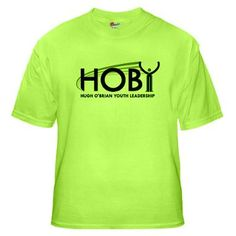 HOBY Shirt  Color: Neon green