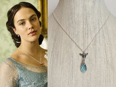 Downton Abbey Bumble Bee Necklace downneck607 by tudorshoppe