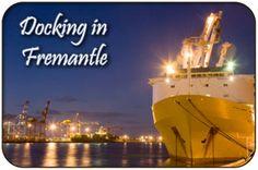 Cruise Ship Docking at the Fremantle Docks - Fremantle Waterfront, Victoria Quay Maritime Museum, Western Australia, Cruise, Victoria, Ship, River, Marketing, Cruises, Ships