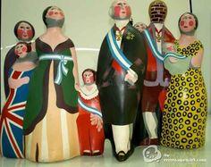 La familia de Carlos IV de - Equipo Crónica. OpenArt. Galerías de arte. Compra y venta de obra de arte.