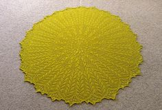 Ravelry: Project Gallery for Heliotaxis Pi Shawl pattern by Renata Brenner. Knitted Circle shawl; free pattern