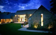 english farmhouse interiors | ... Home With Spa, Cinema and Solar Park | Home Interior Design Themes