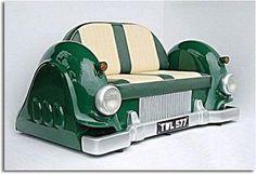 inspiração e diversão: móveis feitos com reciclagem