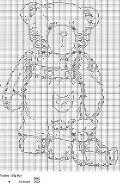 Cross Stitch *♥* Teddy Bear