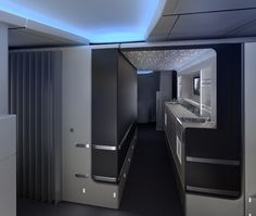 American Airlines' new interior design, coming soon to B777-300ER aircrafts. // by JPA Design Consultants #happyhour