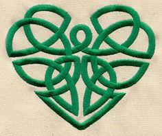 Celtic Heart design (UT2944) from UrbanThreads.com