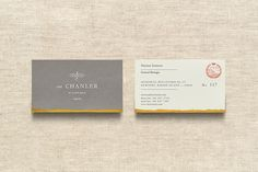 The Chanler. Design by www.anagrama.com