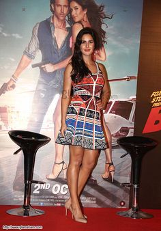 Katrina Kaif In Short Frock at Bollywood Beauties In Hot Short Frocks picture gallery picture # 14 : glamsham.com