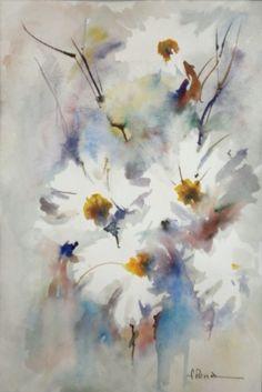 Fernando Pena - Acuarelas - Watercolors: Un formato pequeño