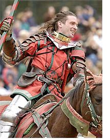 Jousting is a crowd favorite at the Renaissance Festival