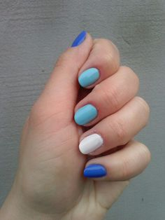 Niebiesko mi 💅