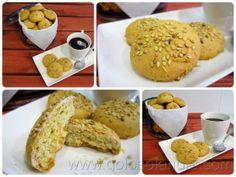 Galletas de yogur Fácil receta casera, paso a paso. http://www.golosolandia.com/2014/04/galletas-de-yogur.html