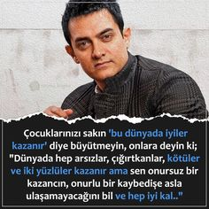 Aamir Khan, Wonder Quotes, Meaningful Words, Just Me, Islamic Quotes, Karma, Quotations, Humor, My Favorite Things