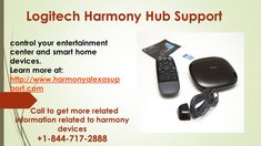 Logitech Harmony Tech Support furnish smart & feasible assistance regarding the Logistic Harmony. Available for 24*7 for you. Call on Toll-free +1-844-717-2888