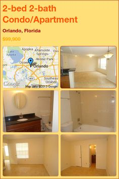 2-bed 2-bath Condo/Apartment in Orlando, Florida ►$99,900 #PropertyForSale #RealEstate #Florida http://florida-magic.com/properties/12225-condo-apartment-for-sale-in-orlando-florida-with-2-bedroom-2-bathroom