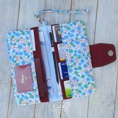 Travel wallet Family travel wallet Travel document by KvitkaBags
