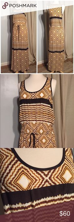 Brand new Karen Kane maxi Brand new without tags Karen Kane summer maxi. Super cute and soft to touch🙌🏼. 59in long; 20in slit on both sides Karen Kane Dresses Maxi