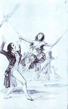 Juan Martin Diaz, Determined to - Francisco Goya - WikiArt.org