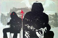 "Saatchi Online Artist: Hoong Yang Chang; Acrylic, 2011, Painting ""Urban Trilogy III"""