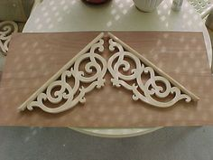 "Victorian Gable Decoration #2 ""Queen Mary's Lace"""