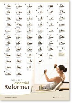Stott Pilates Essential Reformer Wall... by exerciseacc