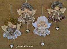 Best 12 Use your imagination with diagram and make an ornament; make tinfoil wings or lace – SkillOfKing. Angel Crafts, Xmas Crafts, Felt Crafts, Decor Crafts, Christmas Angel Ornaments, Felt Christmas Decorations, Felt Ornaments, Christmas Sewing, Handmade Christmas